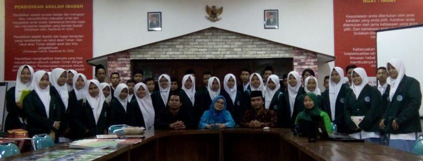 Kunjungan Studi MA Ma'ahid Kudus